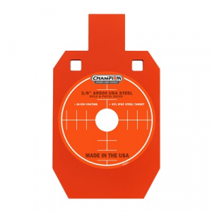 "Champion Targets Center Mass 3/8"" Ipsc Ar500 Steel Targets"