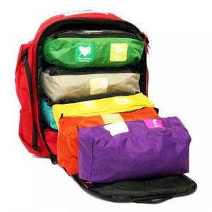 Think Safe Inc First Voice Color Coded First Aid Responder Kit
