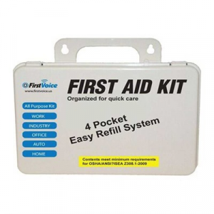 Think Safe Inc First Voice Basic First Aid Kit