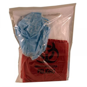 Think Safe Inc Deluxe Bloodborne Pathogen Clean-Up Kit
