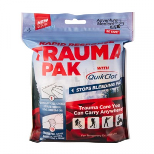 Adventure Medical Kits Rapid Response Trauma Pack W/Quikclot