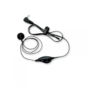 Motorola Earbud With Push-To-Talk Microphone