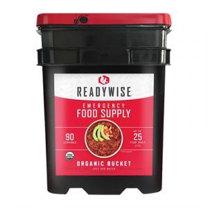Wise Foods 90 Serving Organic Bucket