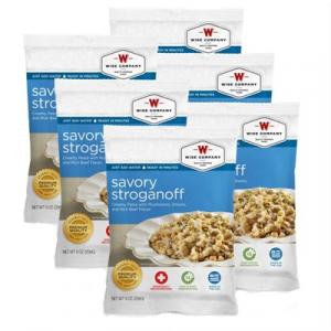 Wise Foods 4 Serving Savory Stroganoff
