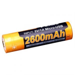 Fenix Lighting 18650 (3.6v) 2600 Mah Rechargeable Li-Ion Battery