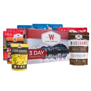 Wise Foods 3 Day Weekender Kit