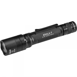 Surefire Edcl2-T Dual Output Everday Carry Flashlight 6v