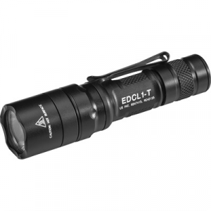 Surefire Edcl1-T Dual Output Everday Carry Flashlight 3v