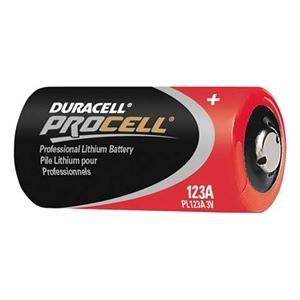 Duracell Procell Cr123a Lithium Batteries