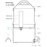 Katadyn North America - Drip TRK Filter Small Parts Kit