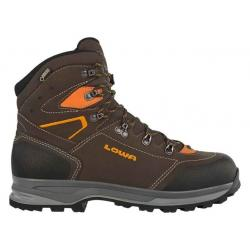 Lowa Lavaredo GTX Backpacking Boot - Men's, Slate/Orange, 8, Medium