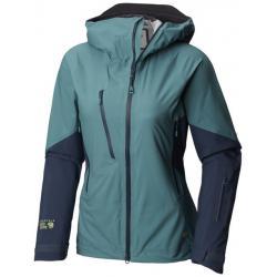 Mountain Hardwear CloudSeeker Ski Shell Jacket - Women's, Lakeshore Blue, Large