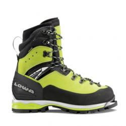 Lowa Weisshorn GTX Mountaineering Boot- Women's, Lime/Black, 6.5, Medium