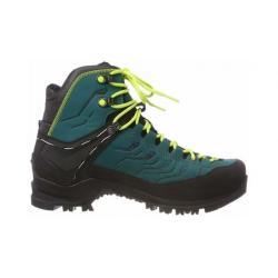Salewa Rapace GTX Mountaineering Boot - Women's, Shaded Spruce/Sulphur Spring, 7