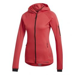 Adidas Outdoor Stockhorn Fleece Hoodie II - Women's, Active Pink