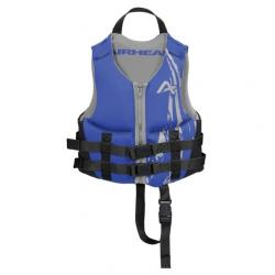 Airhead Kids Swoosh Kwik-Dry Neolite Flex Vest, Blue