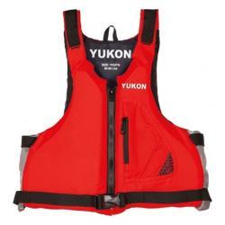 Yukon Charlie's Youth Base Paddle Life Vest, Red