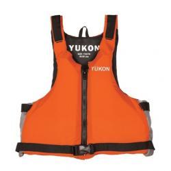 Yukon Charlie's Youth Livery Paddle Life Vest, Orange