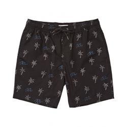 Billabong Larry Layback Sunday - Casual Shorts - Men's, Black, Large