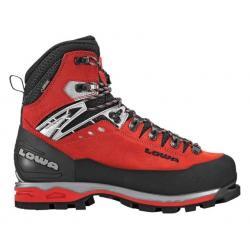 Lowa Mountain Expert GTX EVO Mountaineering Boot - Men's, Red/Black, 8.5, Medium