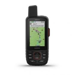 Garmin GPSMAP 66i GPS Handheld and Satellite Communicator, Black