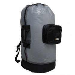 National Geographic Clamshell Mesh Backpack Dlx 5 Pocket -TI/Bk, MSH-BK-DX-5PKT-TI/BK