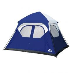 Stansport Instant Family Tent, 108X120X71 in, Blue/White