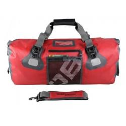 Overboard Gear Ultra-Light Waterproof Duffel Bag 50L, Red