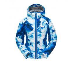 Spyder Fleur Synthetic Down Jacket- Women's, Frequency Turkish Sea/Turkish Sea/Turkish Sea, 4