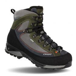 Crispi Colorado GTX Backpacking Boots - Men's, Grey/Black/Olive, Medium, 10