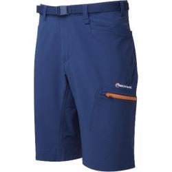 Montane Dyno Stretch Shorts - Men's-Antarctic Blue/Tangerine-12 in-Medium