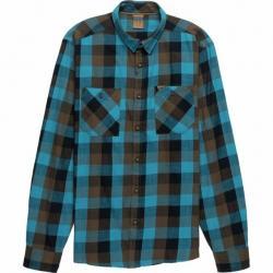 Demo, Rab Dusker Long Sleeve Shirt - Men's, Azure Check, Large, QCA-93-AZ-L