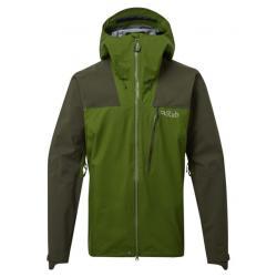 Rab Ladakh GTX Jacket - Men's, Army/Lime, Large