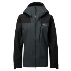 Rab Ladakh Jacket GTX - Women's, Black/Beluga, Size 10