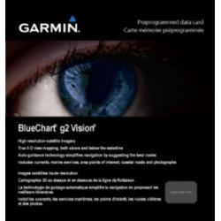 Garmin BlueChart g2 Greenland West v2010.5-v12 microSD Card w/SD Adapter