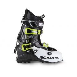Scarpa Maestrale RS Alpine Touring Boot - Men's, White/Black/Lime, 25