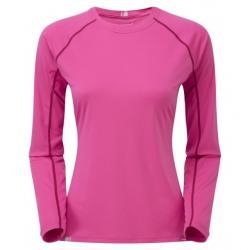 Montane Fem Sonic Long Sleeve T, Dolomite Pink, UK12/US10/EUR38
