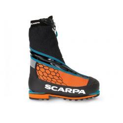 Scarpa Phantom 8000 Mountaineering Boots - Men's, Black/Orange, Medium, 41