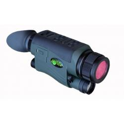 Luna Optics Digital G2 Day & Night Vision Monocular, 5-20x44mm, Digital, Built-In IR Illuminator, Green/Black