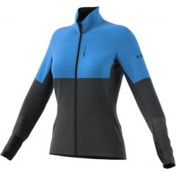 Adidas Outdoor Demo, Xperior Jacket - Women's, Real Blue/Carbon, Small