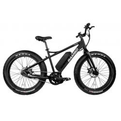 Rambo Bikes Savage Electric Bicycle, Bafang BBS02  High Torque Motor, 19 mph Speed w/o Pedaling, Black