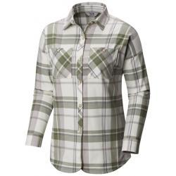 Mountain Hardwear Acadia Stretch Long Sleeve Button Up Shirt - Women's, Cotton, Small