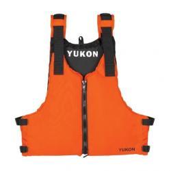Yukon Charlie's Livery Paddle Life Vest, Orange, Oversised
