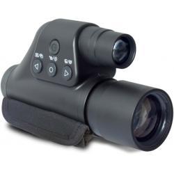 Night Owl Optics 3-Power Digital Night Vision Monocular w/Digital Zoom, Black