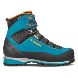Lowa Alpine Pro LE GTX Mountaineering Boots - Women's, Turquoise/Mandarine, Medium, 6.5