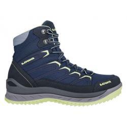 Lowa Innox Ice GTX Mid Winter Hiking Boot - Women's, Navy/Mint, 10, Medium
