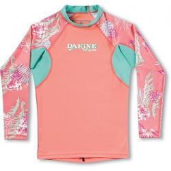 Dakine Girl's Classic Snug Fit Long Sleeve Rashguard - Kid's, Waikiki, 10