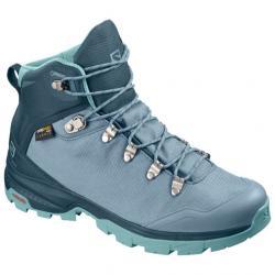 Salomon OUTback 500 GTX Backpacking Boot - Women's, Bluestone/Reflecting Pond/Nile Blue, Medium, 7.5