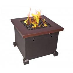 Camp Chef Sante Fe Fire Table, Brown
