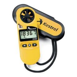 Kestrel 3500 Weather Meter / Digital Psychrometer, Yellow, 0